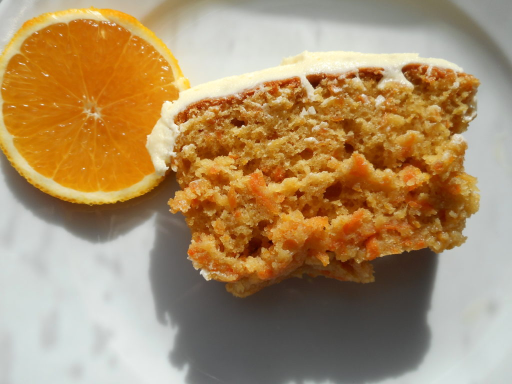 Carrot & orange Cake with Buttercream Icing